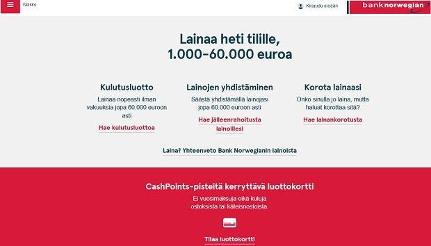 Bank Norwegian kokemuksia voi kehua ja antaa suoraan 10/10 niille, sillä se on kaikilta puolin erinomainen. Asiakaspalvelusta voisi ehkä olla parantamisen varaa.