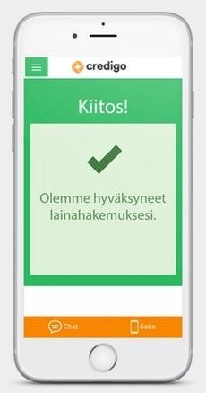Credigo on erinomainen kulutusluotto, josta on kerrottu paljon hyvää. Myös muualla kuin Suomessa, jossa sen asiakastyytyväisyys on 94% keskimäärin.